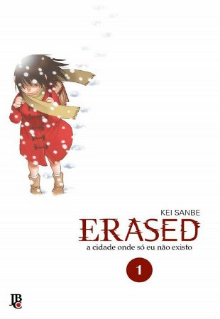 Erased - Volume 01 (Item novo e lacrado)