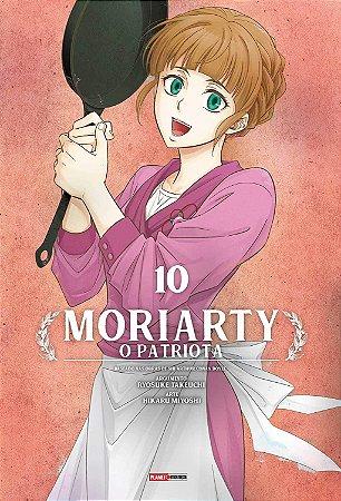 Moriarty : O Patriota - Volume 10 (Item novo e lacrado)