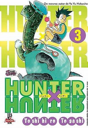 Hunter x Hunter - Volume 03 (Item novo e lacrado)