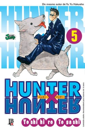 Hunter x Hunter - Volume 05 (Item novo e lacrado)