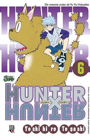 Hunter x Hunter - Volume 06 (Item novo e lacrado)