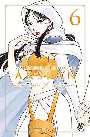 A Heroica Lenda de Arslan - Volume 06 (Item novo e lacrado)