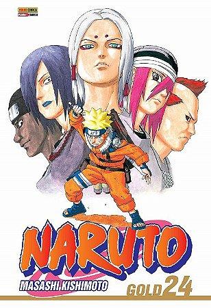 Naruto Gold - Volume 24 (Item novo e lacrado)