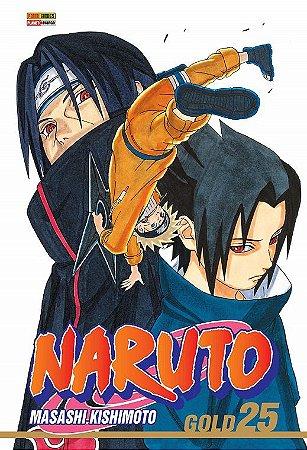 Naruto Gold - Volume 25 (Item novo e lacrado)