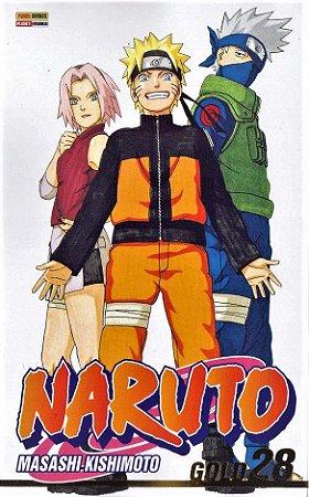 Naruto Gold - Volume 28 (Item novo e lacrado)