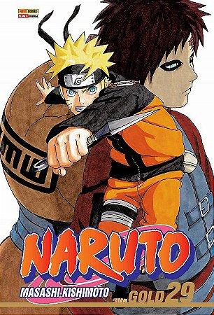 Naruto Gold - Volume 29 (Item novo e lacrado)