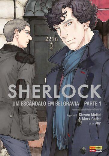 Sherlock : Um Escândalo em Belgrávia - Parte 01 (Item novo e lacrado)
