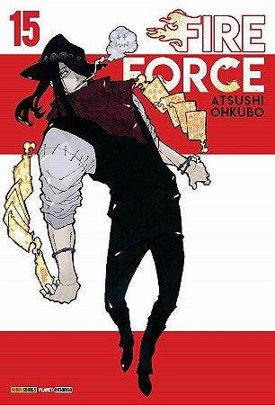 Fire Force - Volume 15 (Item novo e lacrado)