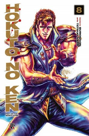 Hokuto no Ken - Volume 08 (Item novo e lacrado)