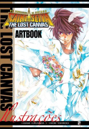 Os Cavaleiros Do Zodíaco - The Lost Canvas : Artbook (Item novo e lacrado)