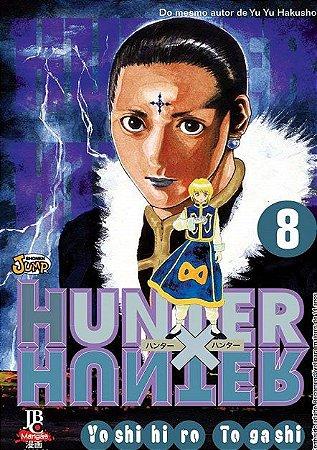 Hunter x Hunter - Volume 08 (Item novo e lacrado)