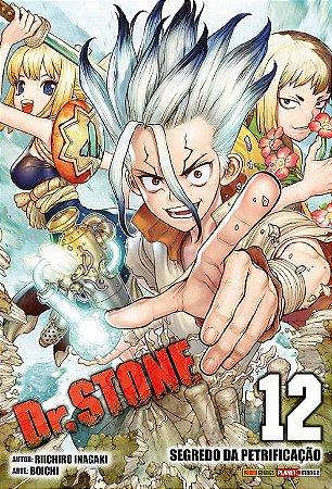 Dr. Stone - Volume 12 (Item novo e lacrado)