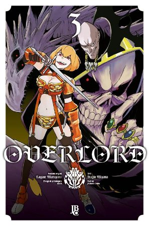 Overlord - Volume 03 (Item novo e lacrado)