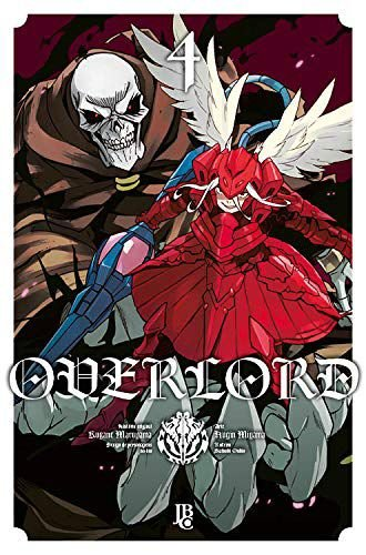 Overlord - Volume 04 (Item novo e lacrado)