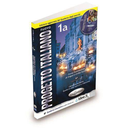 Nuovo Progetto Italiano 1A + CD ROM + CD Audio (Studente & Quaderno degli esercizi)