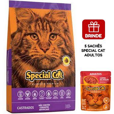 Ração Special Cat Premium para Gatos Adultos Castrados 20 Kg