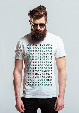 T shirt caça palavras