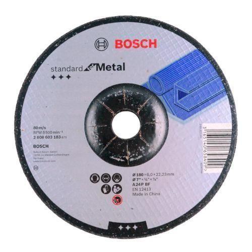 Disco De Desbaste 7'' 180mm Metal 2608603183 Gr24 Bosch