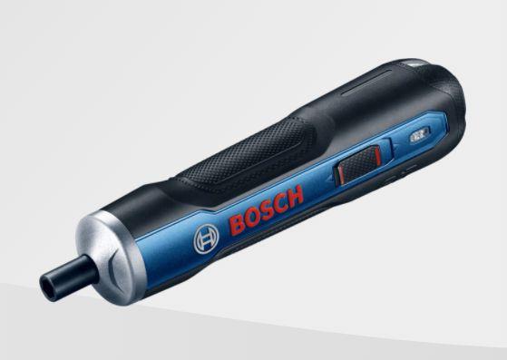 Parafusadeira a Bateria Bosch Go 3,6V BIVOLT com 1 Bit PH2, Cabo USB em Maleta plástica Professional