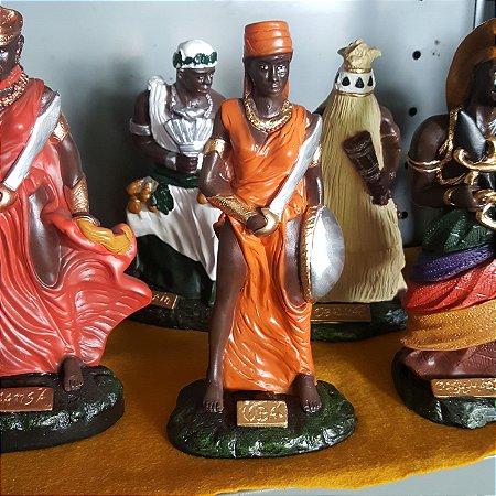 Imagem de Gesso Orixá Africana Obá