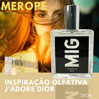 Perfume Mérope Inspirado no Jadore 50ml