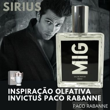 Perfume Sirius inspirado no Invictus Masculino 50 ML