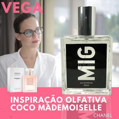 Perfume Vega inspirado no Coco Mademoiselle 50 ml