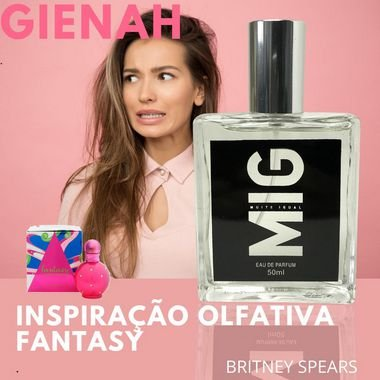 Perfume Gienah Inspirado no Fantasy 50 ml