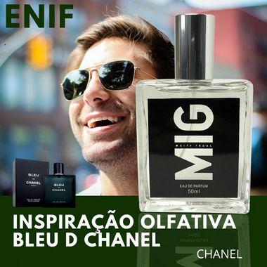 Perfume Enif Inspirado no Bleu de Chanel 50ml