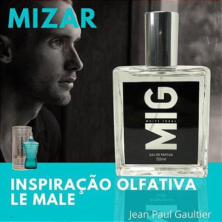 Perfume Mizar Inspirado no Le Male 50ml