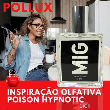 Perfume Pollux Inspirado no Poison Hypnotic 50ml