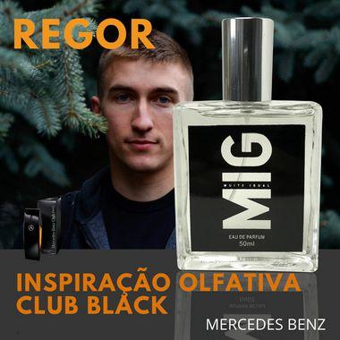 Perfume Regor Inspirado no Club black Mercedes Benz 50ml