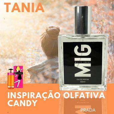 Perfume Tania Inspirado no Candy Prada 50ml