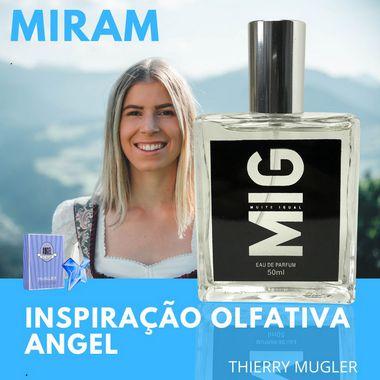 Perfume Miram Inspirado no Angel 50ml