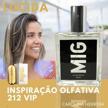 Perfume Lucida Inspirado no 212 VIP 50ml