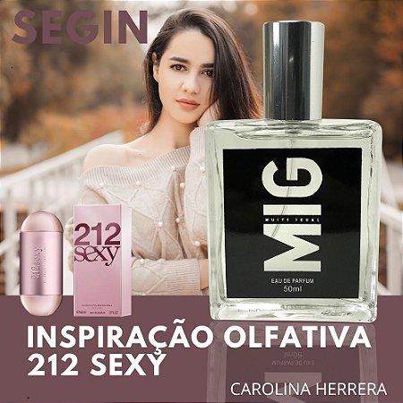 Perfume Segin Inspirado no 212 Sexy 50ml