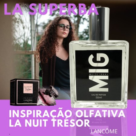 Perfume La Superba Inspirado no La nuit 50ml