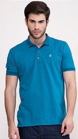 Camisa Polo Masc Presidium Azul