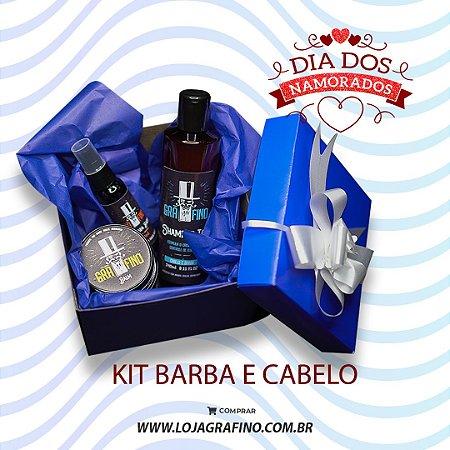 Kit Barba e Cabelo - Dia dos Namorados