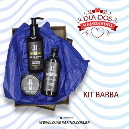 Kit Barba - Dia dos Namorados
