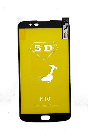 Película de gel 5D Nano flexível para modelos LG k10 k420 k430 2017