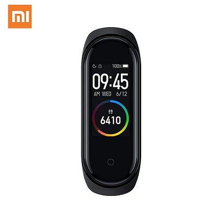 Smartwatch Xiaomi Mi Band 4 Display Colorido - Global + Película protetora Gel de Brinde