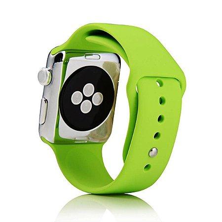 Pulseira De Silicone Sport para Apple Watch 42/44mm - Verde Limão