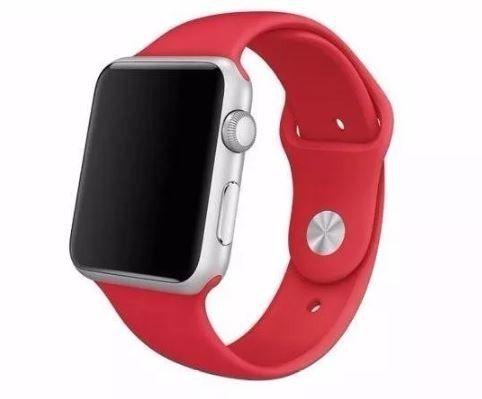 Pulseira De Silicone Sport para Apple Watch 38/40mm - Vermelho Sangue