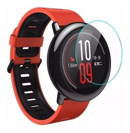 Kit 2 Peliculas Gel Smartwatch Xiaomi Amazfit Pace