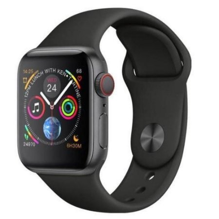 Iwo 8 Plus Relógio Smartwatch 44mm Ios/android Monitor Passo Batimentos Sono