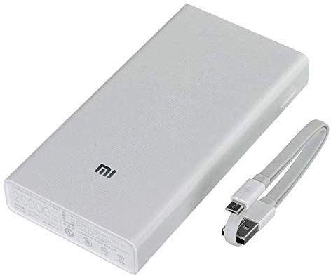 Carregador Portatil Original Xiaomi 20000mah Branco