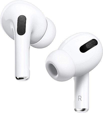 Fone de Ouvido Sem Fio Apple AirPods Pro wireless charging - Branco - Garantia 1 ano