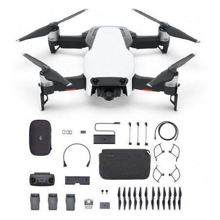 Drone DJI Mavic Air Fly More Combo com câmera 4K artic white - Branco