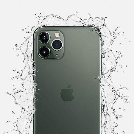 Celular Apple iPhone 11 Pro 64gb / Tela 5.8'' / 12MP / iOS 13 - Cor Verde Meia Noite